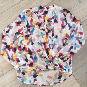 Trina Turk Muriel 2 confetti blouse
